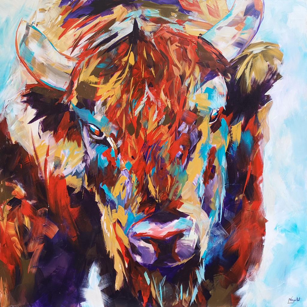 Oeil du bison